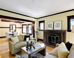Dark Trim Light Walls Extraordinary Living Room Paint Ideas With Light Wood Trim