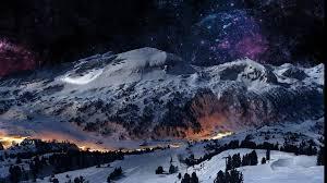 winter mountain wallpaper 1920x1080. Brilliant 1920x1080 Beautifulwintermountainstar Tree Wallpaper  1920x1080 547691  WallpaperUP Intended Winter Mountain Wallpaper N