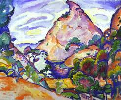 braque painted this scene from memory in the spring of 1909 and it is a