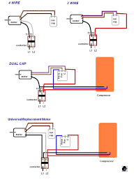 need help replacing hvac condensor fan motor 3 wire old to 4 ac capacitor wiring colors need help replacing hvac condensor fan motor 3 wire old to 4 wire new doityourself com community forums