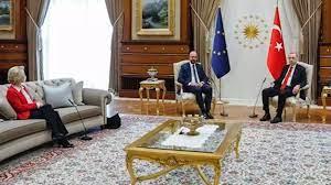 Sofagate | #Sofagate bei EU-Türkei-Treffen: Zwei Stühle und ein 'Ähm' - Eu
