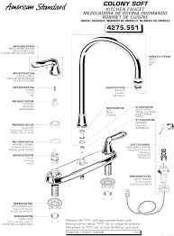 kohler single handle kitchen faucet repair luxury kohler tub faucet parts replacement faucet handles kitchen faucets