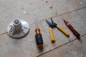 how to install a light fixture toolaterials