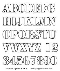stencils letters