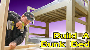 Building A Loft Bed Make A Bunk Bed 180 Youtube