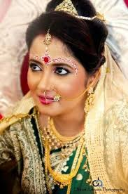 bengali reception makeup
