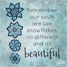 Inspirational Snowflake Quotes