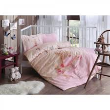 babytac ranforce baby bedding set balerina pink