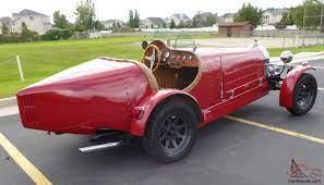 1927 bugatti type 35 classic cars for sale. 1927 Bugatti Kit Car Rustic Red