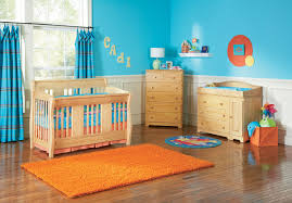 baby boy nursery designs ideas colorful design in blue walls decorated with oak crib and cabinetry blue nursery furniture