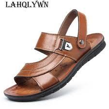 <b>Classic Men Soft Sandals</b> Summer Classic Beach Male'S Slippers ...