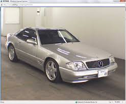1998 Mercedes Benz SL500 Silver with 18