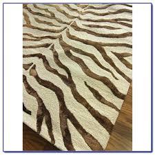 decoration zebra print area rug impressive rugs home design