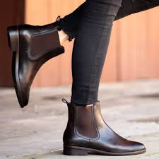 They have a rugged vibram sole, making them great. Women S Duchess Chelsea Boot In Black Coffee Thursday Boot Company