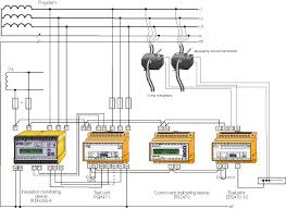 fancos s p a insulation monitoring in railroad applications figure 6 1 wiring diagram of an eds470 system