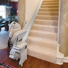 bruno s indoor elite stair lift is made in the usa bruno elite indoorstraight chairlift folded bottom steps