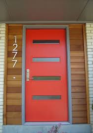 Crestview Doors - Pictures of modern front doors for mid-century modern  houses, 1950's