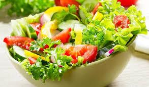 Зеленый летний <b>салат</b>