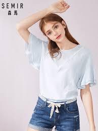 <b>SEMIR</b> new fashion <b>women</b> printed vintage <b>blouse shirts female</b> ...