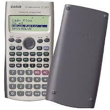 Financial Calculator Casio Financial Calculator Silver Fc 100v Um
