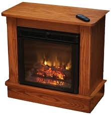 amish seneca electric fireplace with remote