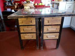 Desk In Kitchen Antique Kitchen Island Desk Collectors Weekly