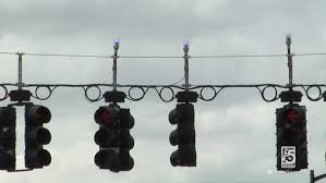 Blue Traffic Light In Florida What Are Those Blue Lights For Atop Traffic Signals Wuft News