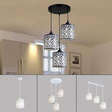 modern flower petal ceiling light led pendant lamp dining room chandelier new 1 light round