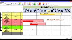 Microsoft Access Gantt Chart Continous Activities