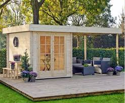 tiny backyard home office. Home Office Where You Can Also Relax On Your Own Deck \u2013 Heaven! Tiny Backyard