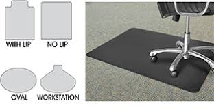chair mat with lip. Chair Mat Shapes With Lip L