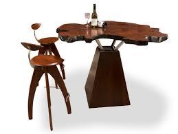 unique jarrah burl bar table • fine furniture design  fine
