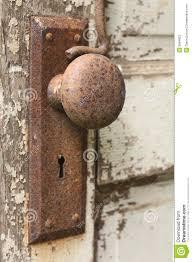 Decorating vintage door knob pictures : Old Door Knob stock photo. Image of keyhole, rusty, wood - 9694822
