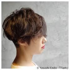 大人ヘアスタイル ナチュラル可愛い 刈り上げ女子 モードtiam Hair