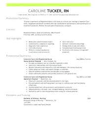 registered nurse sample resumes sample resume registered nurse mmventures co