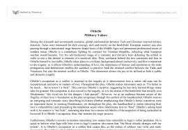 importance of military in othello a level english marked by  document image preview