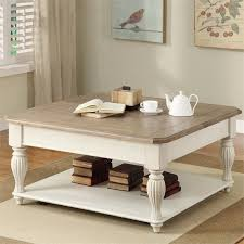 riverside coventry two tone lift top square coffee table