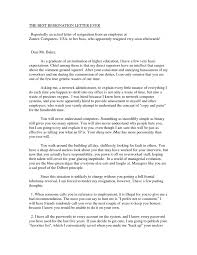 good resignation letters good thesis best resignation letter ever with statement simple creation wording long resume many reason ideas