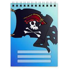 <b>Блокнот</b> Веселый Роджер #1751426 от Велерада | Пиратский ...