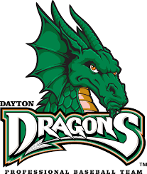 Dayton Dragons Primary Logo - Midwest League (MWL) - Chris Creamer's ...