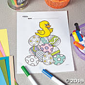 Save On Easter Free Printable Coloring Pages Oriental Trading