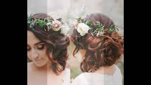 Wedding Updos With Floral Headband