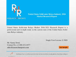 Market Research Awesome United States Solid State Relays Industry 4444 Market Research R