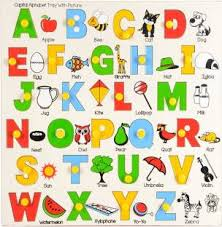 A1 English Small Alphabets With Picture Chart Price In India
