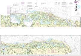 Noaa Chart 12316 Intracoastal Waterway Little Egg Harbor Cape May Atlantic