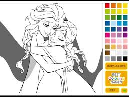 Small Picture Frozen Coloring Pages Coloring Pages For Girls YouTube