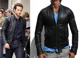 as worn by bradley cooper in limitless this is the long sold out sel lade leather jacket in a large and extremely difficult to get hold of