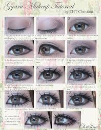 gyaru eyes makeup part 1