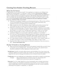 Teaching Experience On Resume Student Teaching Experience On Resume Resume Examples 24 11
