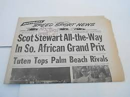 Latest news in south africa, headlines news today from za.opera.news south africa news today: March 5 1969 National Speed Sports News Car Racing Newspaper South Africa Ebay
